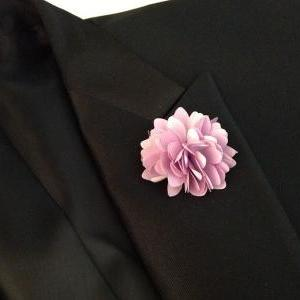 KAYLA-Yellow Men's flower Boutonnie..