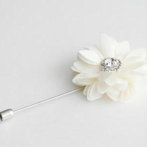 Crystal KAYLA- Men's flower Boutonn..