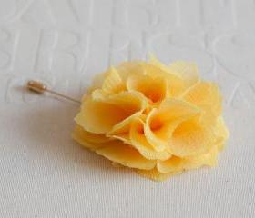 70mm Yellow Chiffon ..
